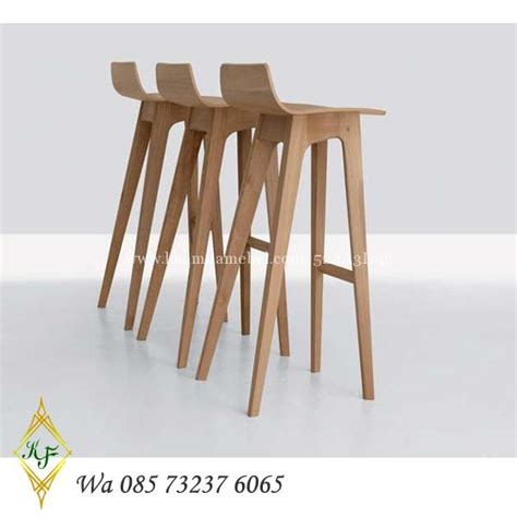 Harga Kursi Bar Stool Informa kursi bar kayu terbaru minimalis murah khamila mebel