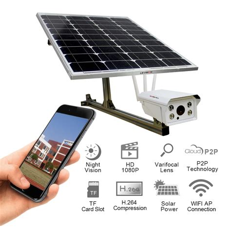 solar powered house ls solar powered wireless wifi cctv camera 4g ip camera with