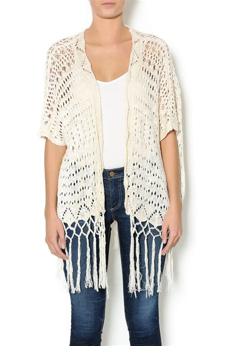 crochet pattern kimono sweater umgee usa crochet kimono sweater from mississippi by the