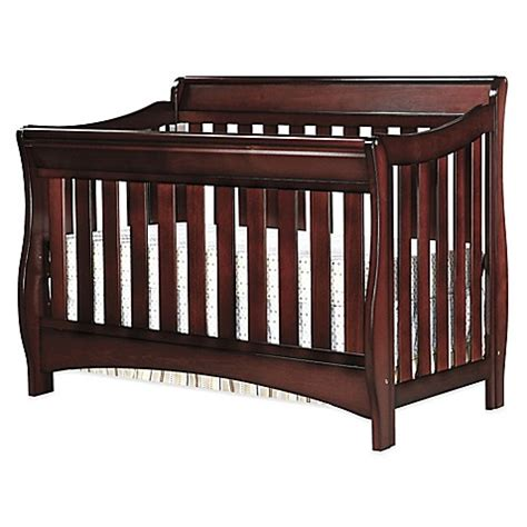 Delta Bentley 4 In 1 Convertible Crib Buy Delta Bentley S Series 4 In 1 Convertible Crib In Black Cherry Espresso From Bed Bath Beyond