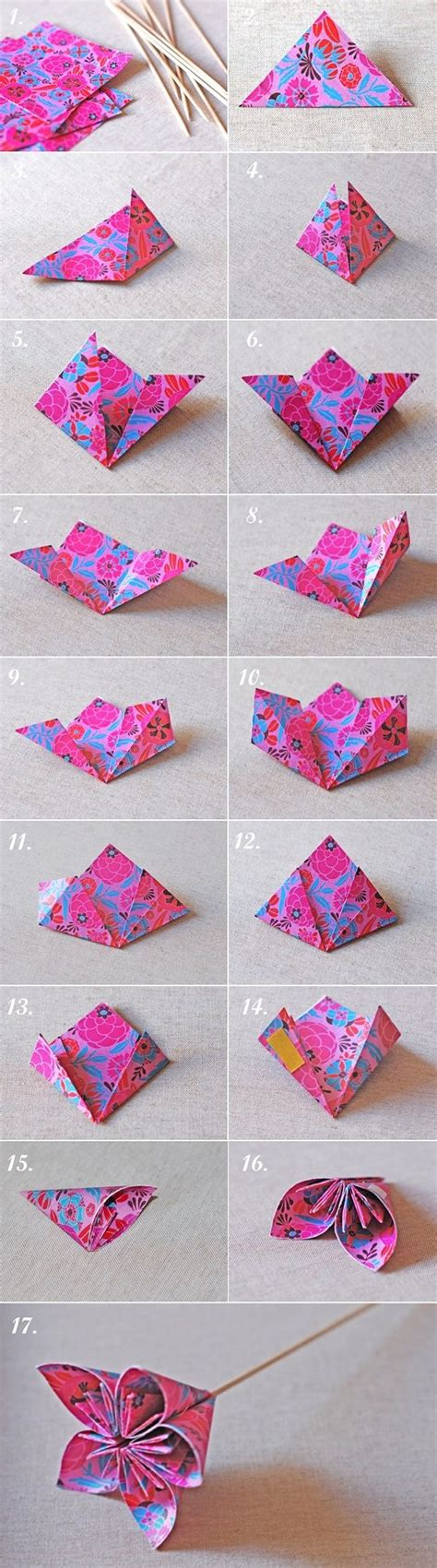 Flores De Origami - origami kusudama flowers just got some of this paper
