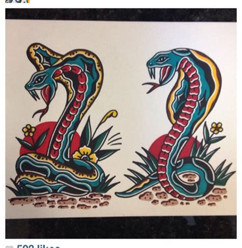 tattoo flash tapestry traditional tattoos flash art snakes tattoo by