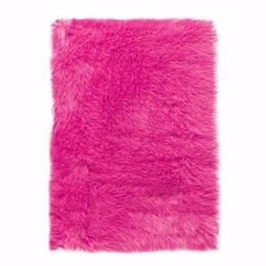 Pink Kitchen Rug Faux Sheepskin Area Rug 2 X3 Pink Home Kitchen
