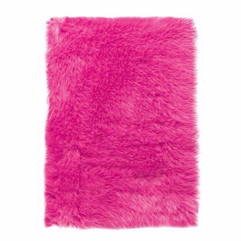 faux sheepskin area rug 2 x3 pink home kitchen