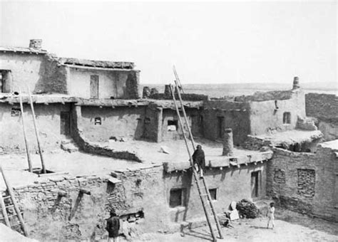 pueblo indians zuni adobe houses encyclopedia