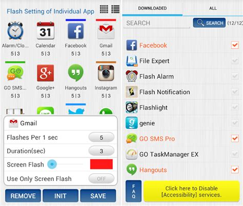 flashlight apps for android flashlight notification app for android 28 images