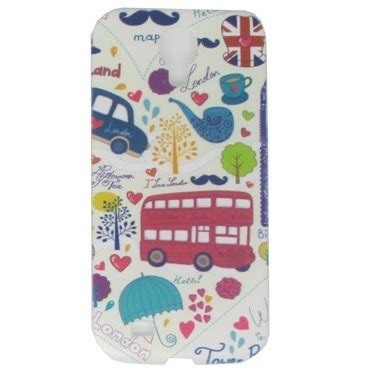 Painting Phone Plastic For Samsung Galaxy S4 C18 No Color painting phone plastic for samsung galaxy s4 c15