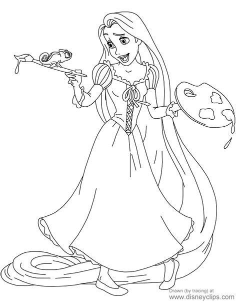 rapunzel coloring pages pdf disney s tangled coloring pages disney coloring book