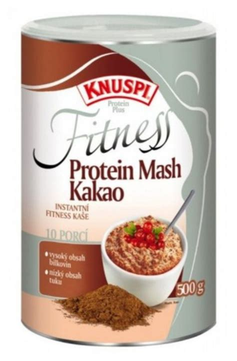 500g carbohydrates prom in knuspi fitness protein mash 500 g flavor cocoa