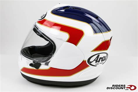 Helm Arai Rx7x Spencher 30th White arai corsair x spencer 30th anniversary helmet suzuki