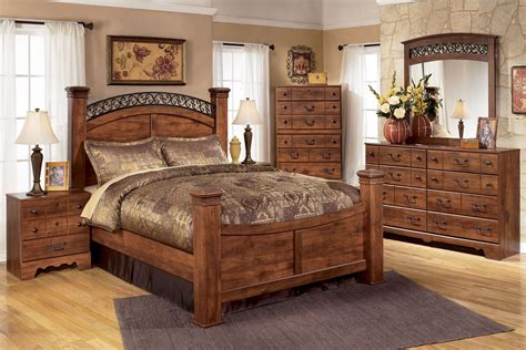 ashley bedroom furniture collection timberline by ashley 174 bedroom collection