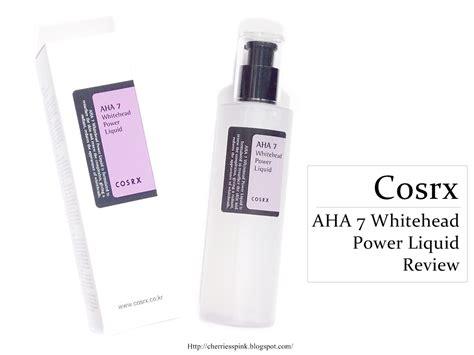 Cosrx Aha 7 Whitehead Power Liquid 10ml lizachan just a cosrx aha 7 whitehead power liquid review