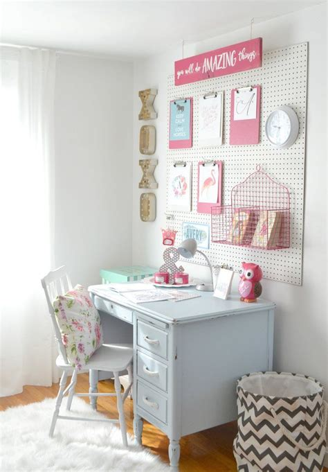 girls bedroom desk best 25 girl desk ideas on pinterest teen girl desk teen girl rooms and pb teen girls