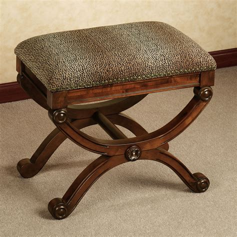 Complete your safari themed home decor with animal print bench homesfeed