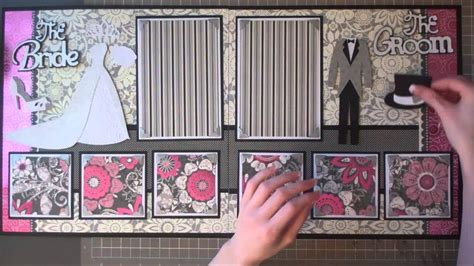 How To Make Wedding Album Layout by Faith Abigail Designs Wedding Album Series And
