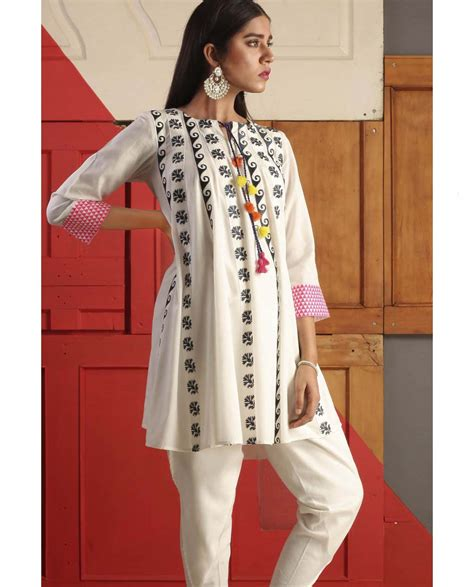 embroidery design for ladies kurta ego latest embroidered women kurtas collection stylo planet