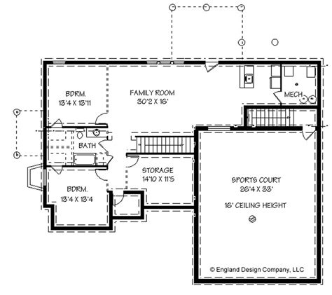 house plan with basement house plans with basketball courts inside england house