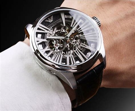 pin 2013 emporio armani saat modelleri on pinterest emporio armani men s ar4629 meccanico black skeleton dial