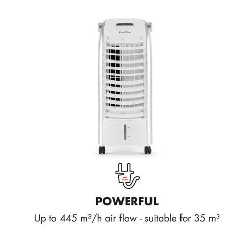 klarstein maxfresh wh ventil 225 tor chladič vzduchu 6l 65 w d 225 lkov 253 ovladač chlad 237 c 237 n 225 plň
