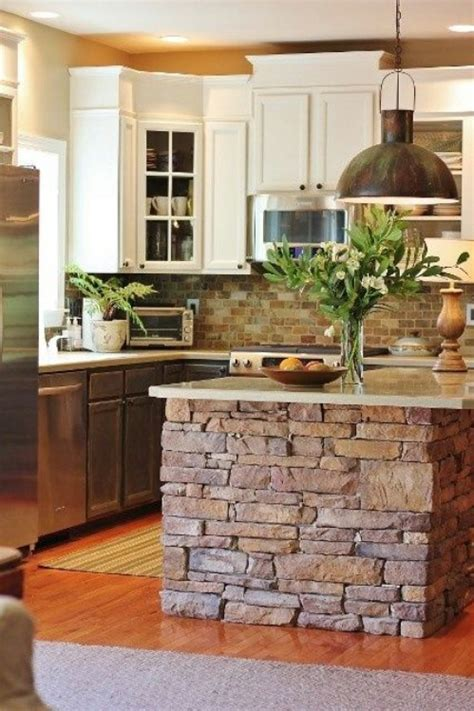 stone island kitchen 40 rustic home decor ideas you can build yourself page 2