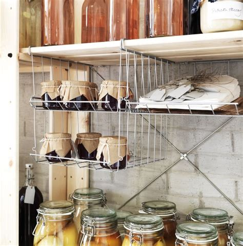 ikea hanging kitchen storage ikea 365 glass clear glass a 4 onions and hanging baskets