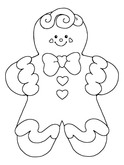 gingerbread boy coloring pages az coloring pages