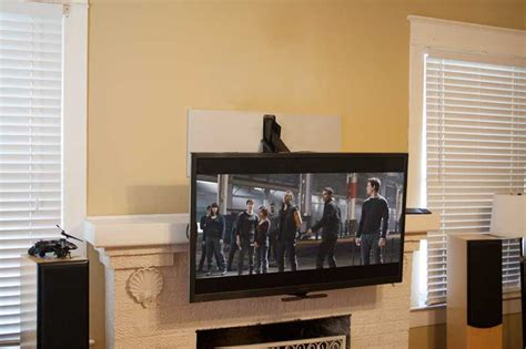 Fireplace Mantel Tv Mount by Sanus Ll22 Low Profile Wall Mount With Proset Audiogurus