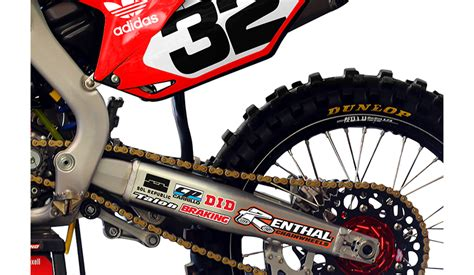 dirt bike swing arm 2013 2015 honda crf 450 tld swing arm stickers dirt bike