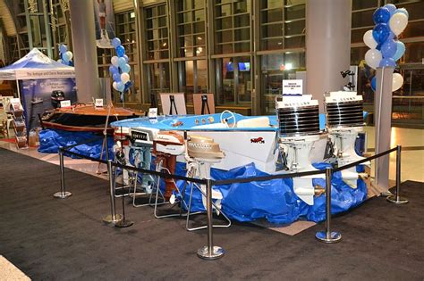 boat show toronto this boats features the acbs vintage boat display at the