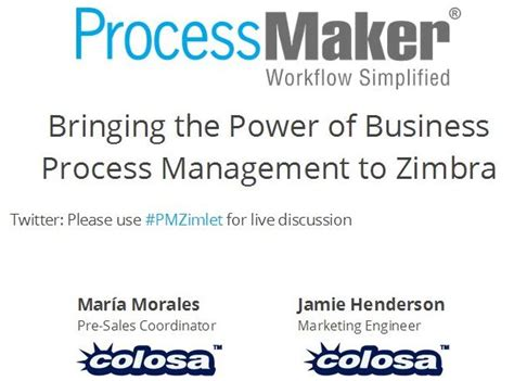 zimbra zimlet tutorial bringing the power of business process management to