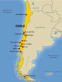 map of chile south america chile the best countries of south america