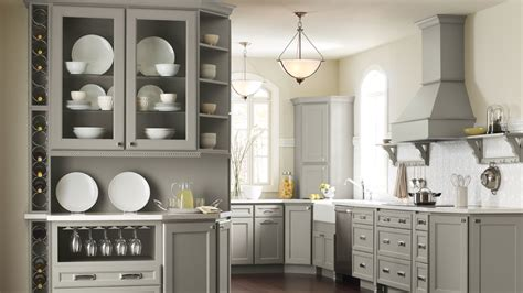 Open Front Kitchen Cabinets by Glass Front Kitchen Cabinets And Open Shelving