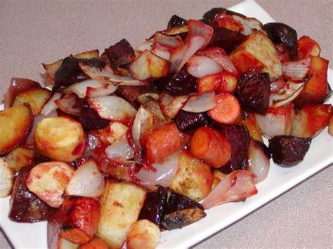 maple roasted root vegetables maple roasted root vegetables recipe food