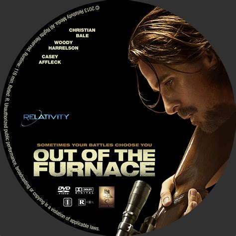 Out Of The by Out Of The Furnace Custom Dvd Labels Out Of The