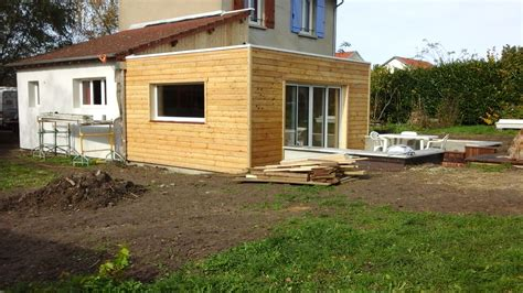 Extension En Bois Prix 2262 by Extension Ossature Bois With Extension Bois