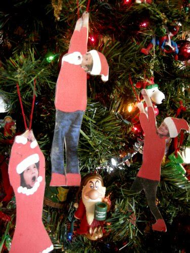 silly fun ornaments creative family moments