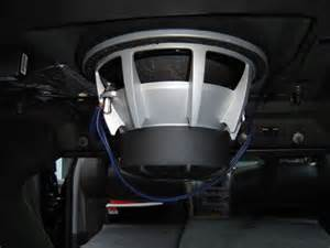 Cadillac Cts Subwoofer 10 Quot Free Air Subwoofer Blown