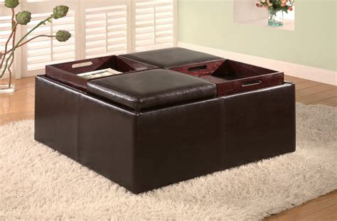 how to build a storage ottoman coffee table small coffee table with storage perfect for small living