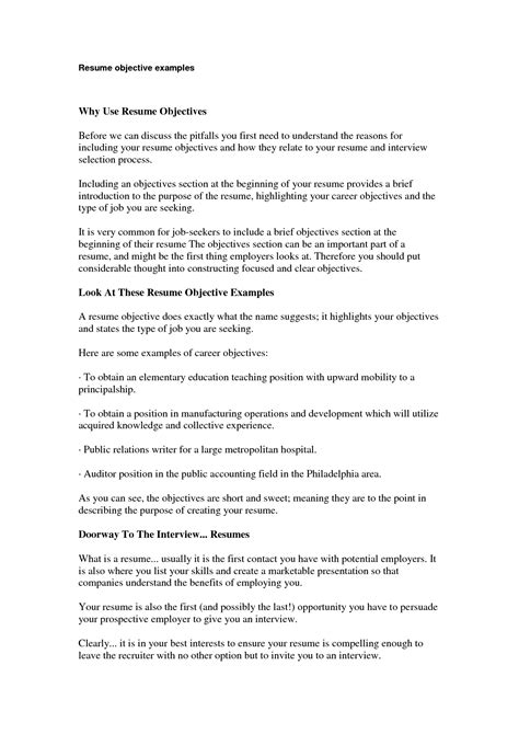 sales resume objective badak shalomhouse us