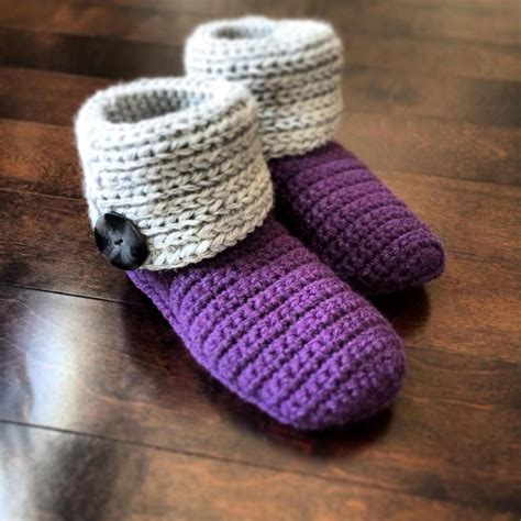 basic knit slipper pattern quot knot knit quot slipper by jennifer pionk crocheting pattern