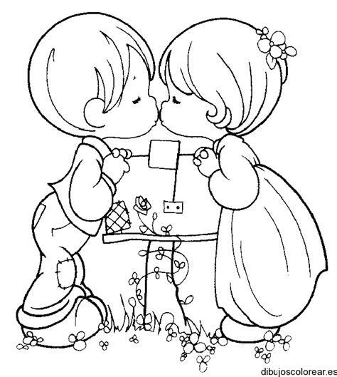 imagenes emo besandose dibujo de dos ni 241 os bes 225 ndose