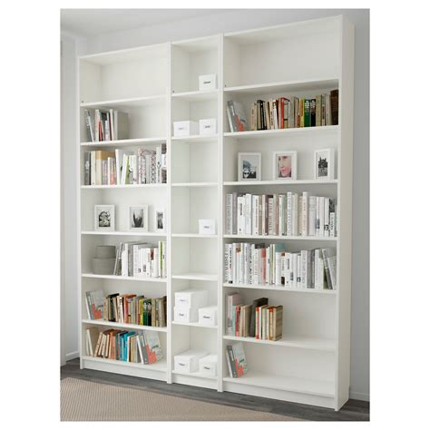 bookcase white billy bookcase white 200x237x28 cm ikea