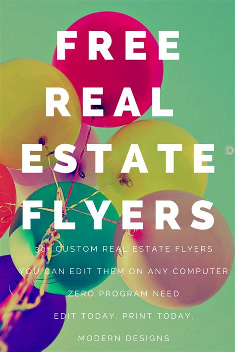 e flyers real estate real estate email flyers and marketing flyer
