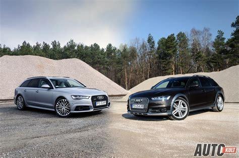 Audi A6 Teszt by Audi A6 3 0 Tdi Tiptronic Quattro Avant Vs Allroad Test