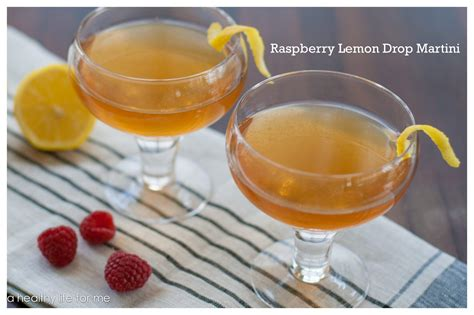 raspberry lemon drop martini raspberry lemon drop martini a healthy for me