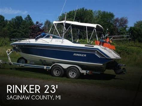 speed boats for sale michigan rinker 230 festiva boat for sale in saginaw mi for