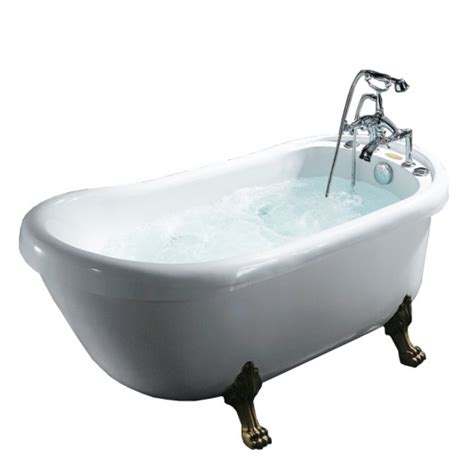 free standing jetted bathtub eago 71 oval free standing whirlpool bath tub with