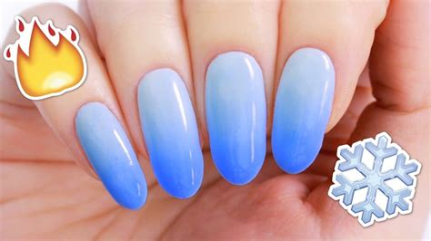 color changing nail diy color changing nail