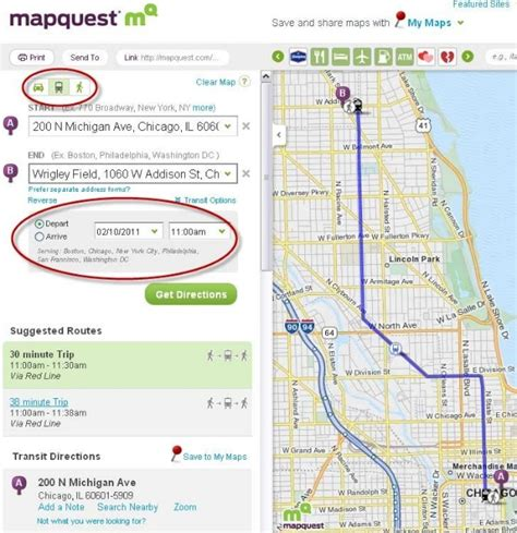 mapquest and walking html autos weblog