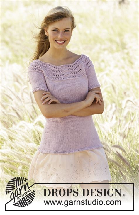 Stoller Baby Wave becca drops 167 2 free knitting patterns by drops design